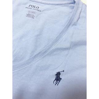 ポロラルフローレン(POLO RALPH LAUREN)のPolo Ralph Lauren 半袖シャツ tシャツ 水色(Tシャツ(半袖/袖なし))