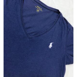 ポロラルフローレン(POLO RALPH LAUREN)のPolo Ralph Lauren 半袖シャツ tシャツ ネイビー(Tシャツ(半袖/袖なし))