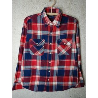 ラングラー(Wrangler)のo2387 Wrangler W9190 長袖 チェック シャツ ネルシャツ(シャツ)
