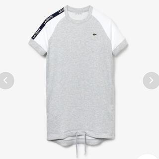ラコステ(LACOSTE)の【新品未使用】カラーブロックフリーステニスドレス(ひざ丈ワンピース)