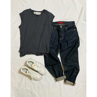 シンゾーン(Shinzone)のTHE SHINZONE ノースリーブ ボーダー Tシャツ(Tシャツ(半袖/袖なし))