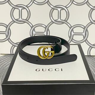 Gucci - ワンピに!GUCCI レディース 細ベルト