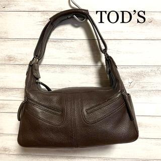 TOD'S - ◆TOD'S トッズ 茶色 レザー バック◆