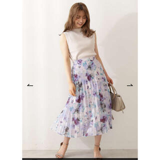 PROPORTION BODY DRESSING - 新品タグ付き♡シアーフラワープリーツスカート