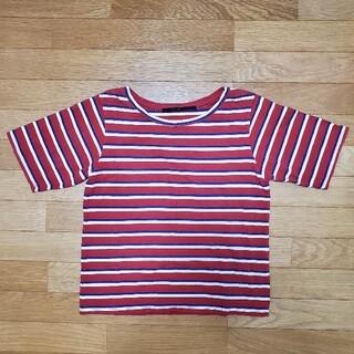ケービーエフプラス(KBF+)のKBF+ ボーダーTシャツ(Tシャツ(半袖/袖なし))