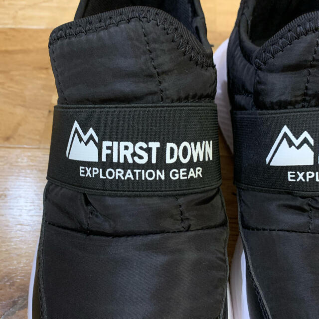 しまむら(シマムラ)のFIRST DOWN ファーストダウン スニーカー スリッポン L レディースの靴/シューズ(スニーカー)の商品写真