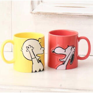 AfternoonTea - 新品  Afternoon tea スヌーピー  マグカップ 2個セット