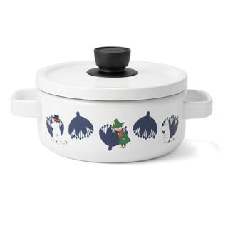 フジホーロー(富士ホーロー)のMoomin&Flower Series ムーミン 20cmキャセロール(食器)