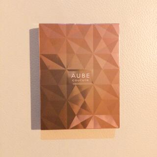 AUBE couture - オーブクチュール ブラシひと塗りシャドウ 565 グリーン系  花王
