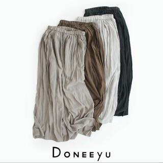 アメリカーナ(AMERICANA)の【新品】DONEEYU×MMN ドニーユ マキシスカート U2062(ロングスカート)