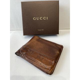 グッチ(Gucci)の希少!!【グッチ GG  二つ折り財布】(財布)