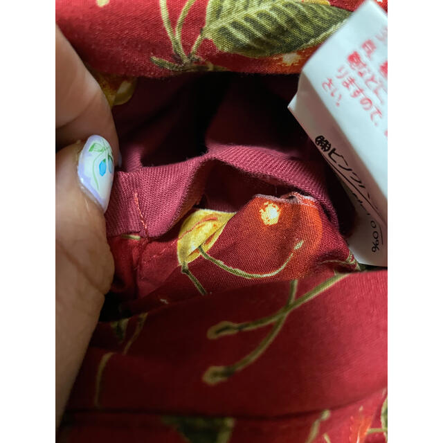 PINK HOUSE(ピンクハウス)のピンクハウス♡さくらんぼ柄 リバーシブルブルゾン レディースのジャケット/アウター(ブルゾン)の商品写真