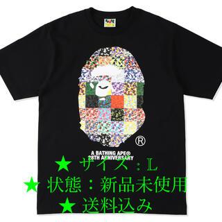 アベイシングエイプ(A BATHING APE)のBAPE 28TH ANNIV. APE HEAD(Tシャツ/カットソー(半袖/袖なし))