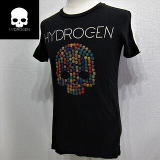 HYDROGEN - ハイドロゲン◇ビッグロゴTEE◇ブラック