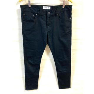 ルードギャラリー(RUDE GALLERY)のRUDE GALLERY スキニー パンツ ブラック w34 L32 日本製(その他)