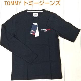 トミー(TOMMY)の新品タグ付き TOMMY トミージーンズ  ロングTシャツ 日本サイズS~M(Tシャツ/カットソー(半袖/袖なし))
