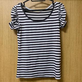 イングリッド(INGRID)のINGRID ボーダーTシャツ(Tシャツ(半袖/袖なし))