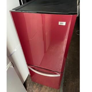 ハイアール(Haier)のハイアール 2ドア冷蔵庫 138L 💍2015年製💍 レッド(冷蔵庫)