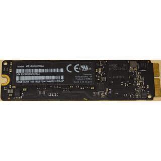 ●MacBook用PCIe SSD 128GB MZ-JPU128T/0A6●(PCパーツ)