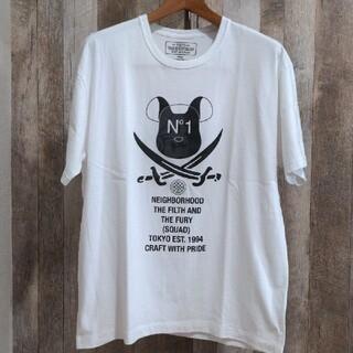 ネイバーフッド(NEIGHBORHOOD)のNEIGHBORHOOD × ベアブリック 2020 Tシャツ XL(Tシャツ/カットソー(半袖/袖なし))