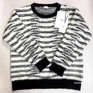 celine - 国内正規品 極美 21SS セリーヌ モヘア コットン クルーネックセーター