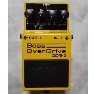 ボス(BOSS)の【美品】BOSS ODB-3 Bass OverDrive(ベースエフェクター)