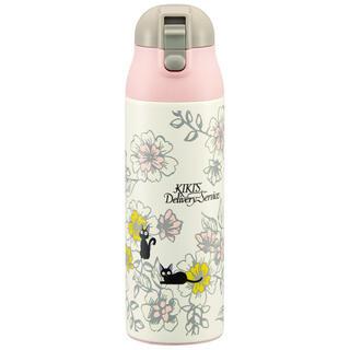 ジブリ(ジブリ)の魔女の宅急便 ジジエレガンス ステンレスボトル 水筒 500ml ジブリ(弁当用品)
