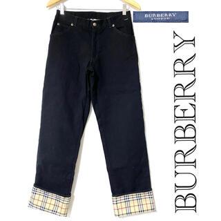 バーバリー(BURBERRY)のBURBERRY / バーバリー ノバチェック デニム ブラック 山陽商会(デニム/ジーンズ)