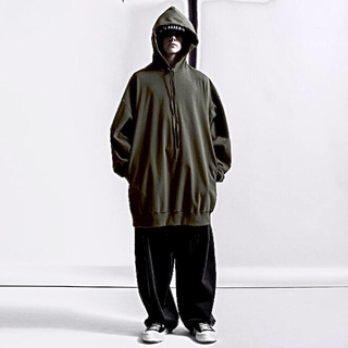 ラッドミュージシャン(LAD MUSICIAN)のHARD T-CLOTH BIG PARKA(パーカー)