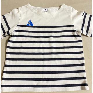 ヘリーハンセン(HELLY HANSEN)のボーダー Tシャツ 110cm ヘリーハンセンキッズ半袖シャツ(Tシャツ/カットソー)
