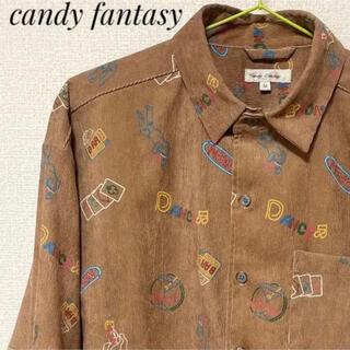 candy fantasy キャンディファンタジー コーデュロイ(シャツ/ブラウス(長袖/七分))