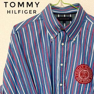 トミーヒルフィガー(TOMMY HILFIGER)のTOMMY HILFIGER トミーヒルフィガー ストライプ(シャツ)