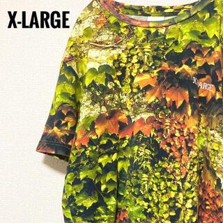エクストララージ(XLARGE)のX-LARGE エクストララージ Tシャツ  マルチカラー 総柄(Tシャツ/カットソー(半袖/袖なし))