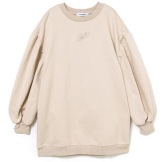 "Bubbles - melt the lady ""M"" crew sweat ベージュ"