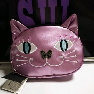 ANNA SUI - 新品 未使用 タグ付 アナスイ ANNA SUI ネコ 猫 ポーチ ピンク