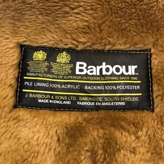 バーブァー(Barbour)の希少 2ワラント バブアー パイルライナー デッドストック 英国製 ベスト ジレ(ベスト)