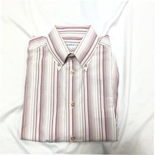 シンプルライフ(SIMPLE LIFE)のシンプルライフ SIMPLELIFE メンズ 半袖ストライプシャツ サイズL(シャツ)