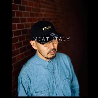 COMOLI - 新品未使用  NEAT  ITALY CAP ニート キャップ ブラック
