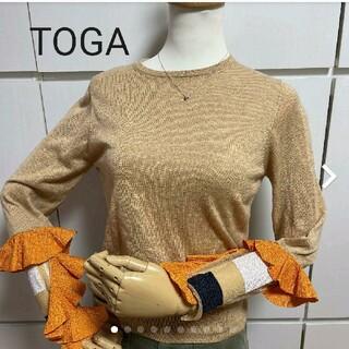 トーガ(TOGA)のTOGA 袖モチーフすてきなカットソー(カットソー(長袖/七分))