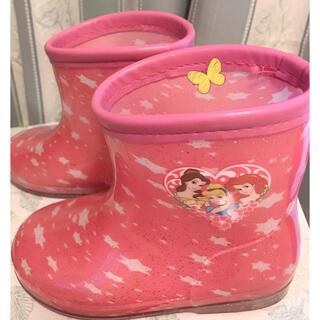 ディズニー(Disney)の長靴キッズレインブーツ プリンセス16cm(長靴/レインシューズ)