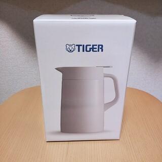 TIGER - タイガー魔法瓶 ステンレスポット PWO-A120W ホワイト