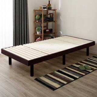 ニトリ(ニトリ)の【美品】ニトリ 3段階高さ調整すのこベッドフレーム(シングルベッド)