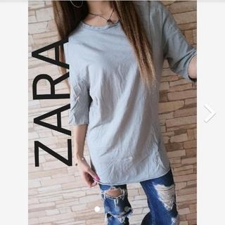 ZARA - ZARA MAN ロング丈Tシャツ