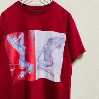 カウイジャミール(KAWI JAMELE)の一点物 カウイジャミール(KAWI JAMELE) 空山基 コラボ Tシャツ(Tシャツ/カットソー(半袖/袖なし))