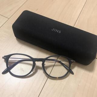 ジンズ(JINS)の【美品】JINS PC用メガネ(サングラス/メガネ)