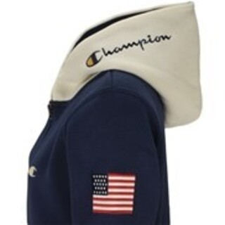 Champion - 新品 M Champion golf fullzip hoodie wear 紺