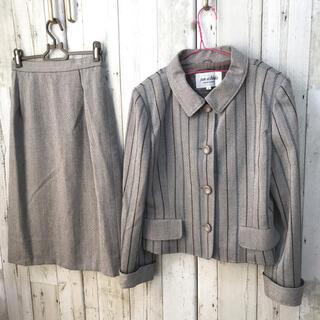 ジュンアシダ(jun ashida)のジュンアシダ  高級ブランド スーツ セットアップ ストライプ ジャケット(スーツ)