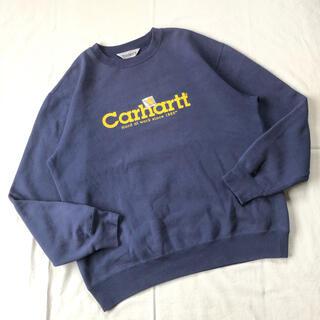 carhartt - Carhartt スウェット カーハート ゆるだぼ デカプリ トレーナー 90s
