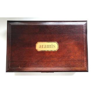 アラミス 空の木箱