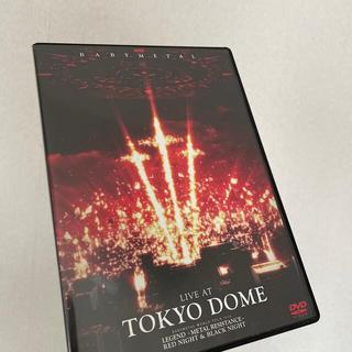 ベビーメタル(BABYMETAL)のLIVE AT TOKYO DOME DVD(ミュージック)